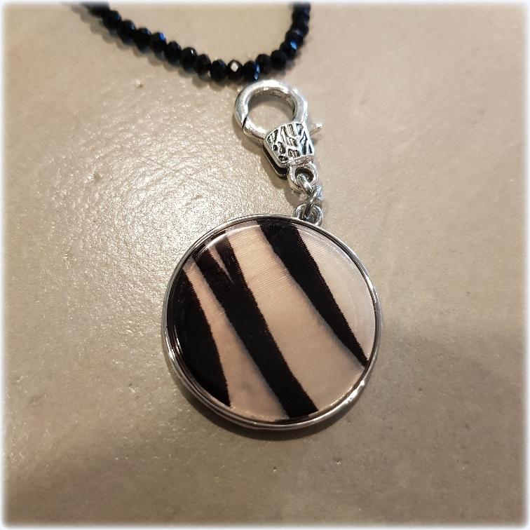 Bedel zebra zwart stras4You