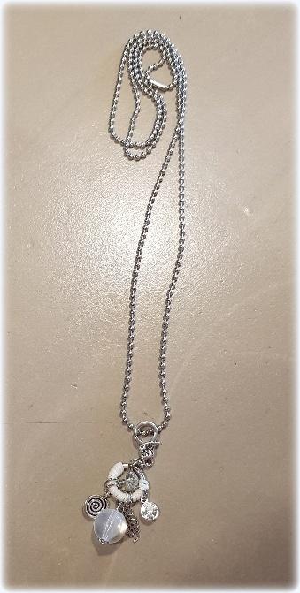 Ball chain zilver