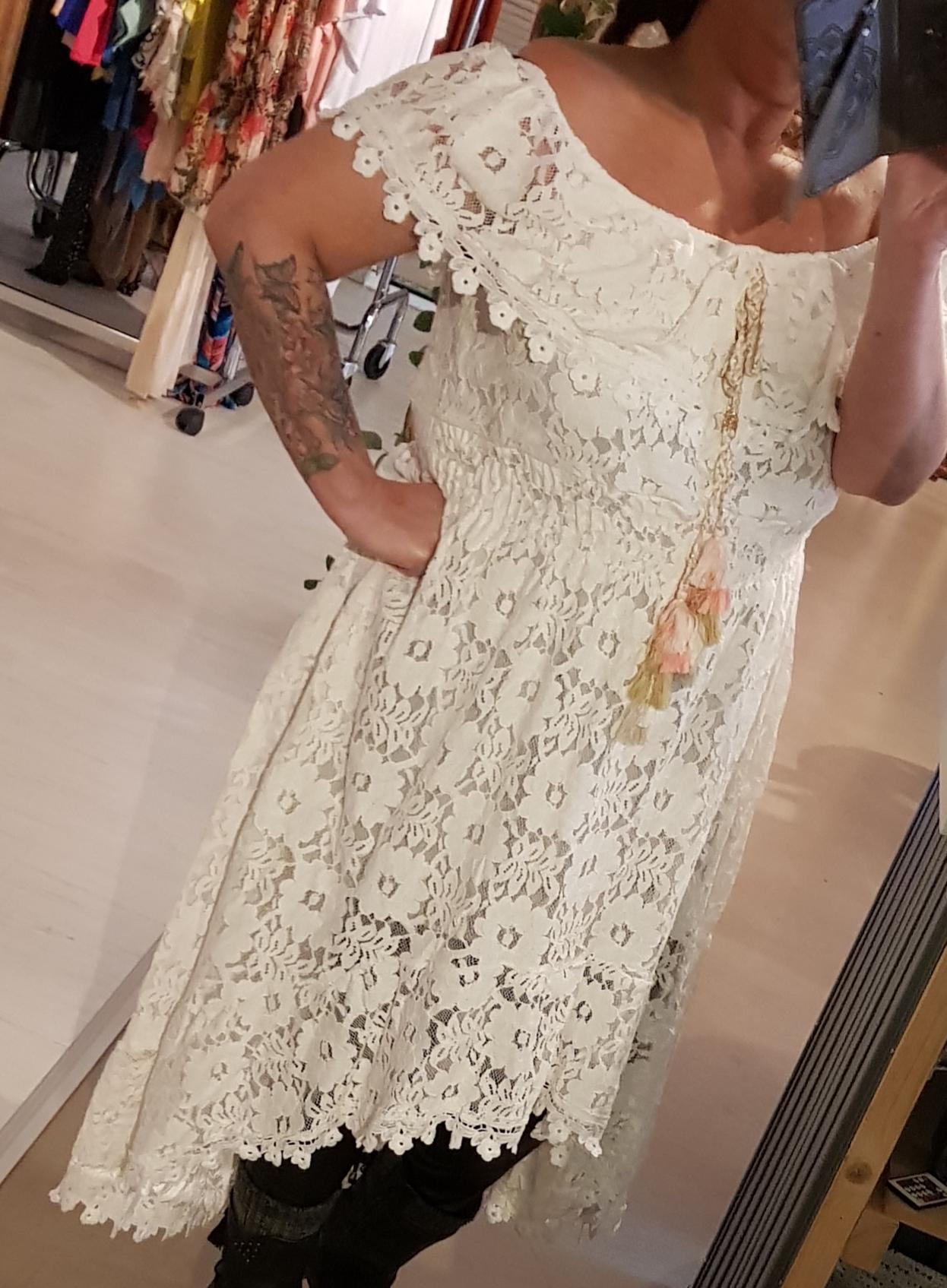 Ibiza jurk kant