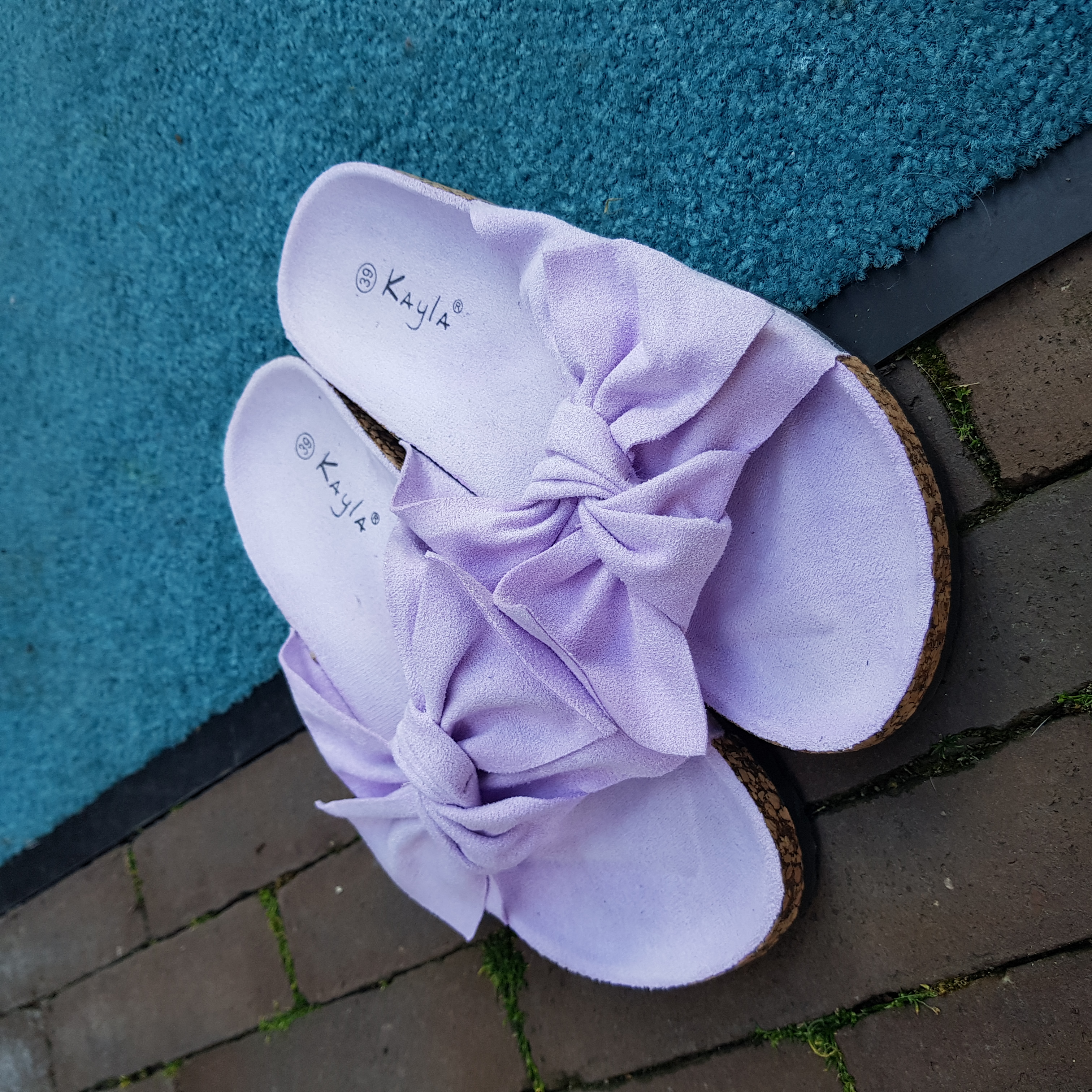 Slippers lila